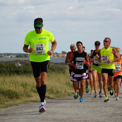 Varbergsloppet - Mats Eriksson (497), Pia Ekelund (736)