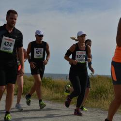 Varbergsloppet - Emil Larsson (424), Mikael Meltzer (674), Martina Wake (1213)
