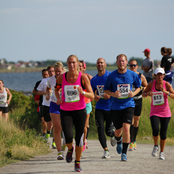 Varbergsloppet - Joakim Mattsson (554), Carina Gardewall (613)