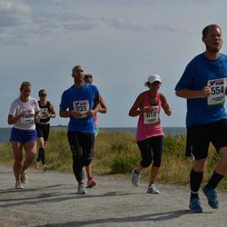 Varbergsloppet - Andreas Zettergren (233), Joakim Mattsson (554), Carina Gardewall (613), Jennica Almberg (1829)