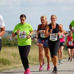 Varbergsloppet - Josephine Lindborg (246), Angelica Östlingh (732)