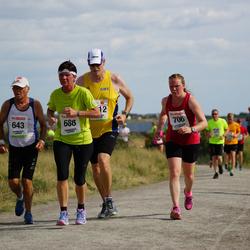 Varbergsloppet - Rolf Bergstrand (643), Marguerite Nilsson (688), Therese Noborg (706)