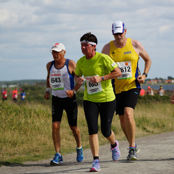 Varbergsloppet - Rolf Bergstrand (643), Marguerite Nilsson (688), Christer Landh (1812)