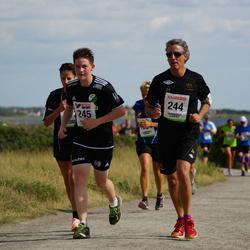 Varbergsloppet - Barney Fyman (244), Adam Fyman (245)