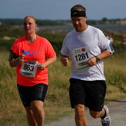 Varbergsloppet - Emilia Tervo (863), Anders Niklasson (1281)