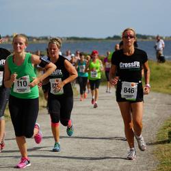 Varbergsloppet - Emilia Bryngelsson (110), Anneli Lif (846), Camilla Tall (877)