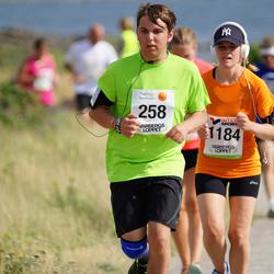 Varbergsloppet - Adrian Norlund (258), Marie Åkerfeldt (1184)