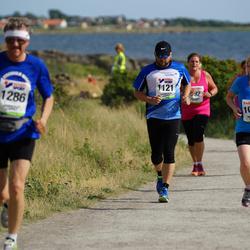 Varbergsloppet - Erica Kvarneving (1054), Dag Håkansson (1121)