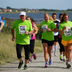 Varbergsloppet - Jarl Robertsson (236), Beata Lindqvist (1143), Reino Bergman (1525), Emma Cid (1726)