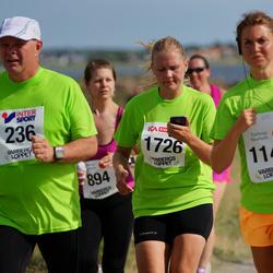 Varbergsloppet - Jarl Robertsson (236), Beata Lindqvist (1143), Emma Cid (1726)