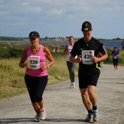 Varbergsloppet - Mats Olsson (438), Anna Lena Olsson (439)