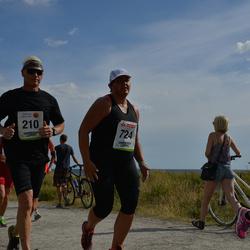 Varbergsloppet - Tommy Lacandler (210), Lotta Persson (724)
