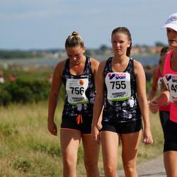 Varbergsloppet - Lisa Rosendahl (755), Linnea Emanuelsson (756), Sarah Wåxberg (1496)