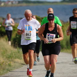 Varbergsloppet - Magdalena Hultén (578), Erland Linjer (912)