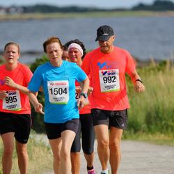 Varbergsloppet - Hans Lundberg (992), Moa Lundberg (995), Kerstin Carlsson (1504)