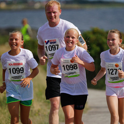Varbergsloppet - Tommy Johnsson (1097), Tilda Johnsson (1098), Stella Warborn (1099)