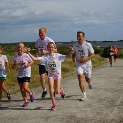 Varbergsloppet - Tilda Johnsson (1098), Stella Warborn (1099), Jens Erenmalm (1271), Vilma Erenmalm (1272)
